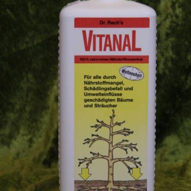 VITANAL geschädigte Bäume und Sträucher